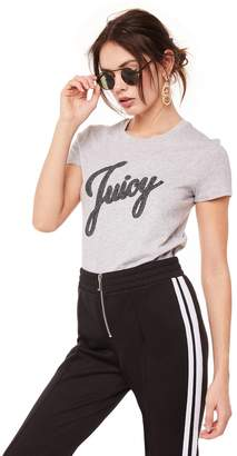 Juicy Couture JUICY SHIMMER SCRIPT TEE