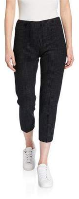 Piazza Sempione Audrey Grid-Checked Pants