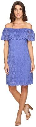 Christin Michaels - Erie Lace Dress Women's Dress $74 thestylecure.com