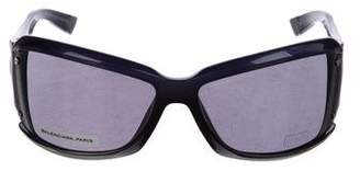 Balenciaga Square Tinted Sunglasses