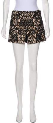 Alice + Olivia Lace High Wasted Shorts w/ Tags