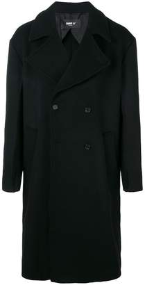 Yang Li oversized buttoned-up coat