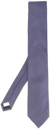 Lardini circle jacquard tie