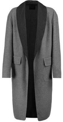 Alexander Wang Reversible Paneled Wool-Blend Coat