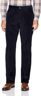 Haggar Men's Straight Fit 5 Pocket Corduroy Pant