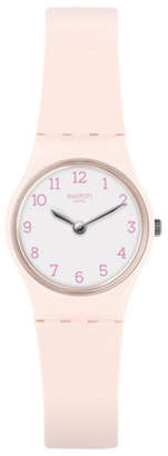 Swatch Analog Silicone Strap Watch