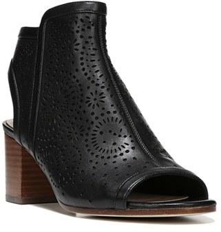 Women's Via Spiga Jorie Perforated Peep Toe Sandal $250 thestylecure.com