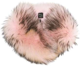 Mr & Mrs Italy racoon fur collar