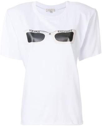 Natasha Zinko sunglasses print T-shirt
