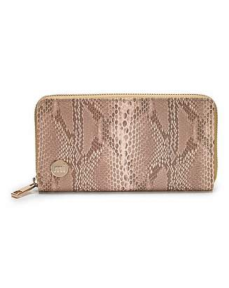 At Fashion World Mi Pac Snake Print Purse