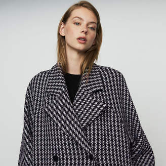 Maje Oversize coat with double button closure