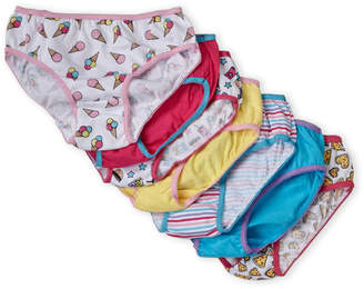 Rene Rofe Girls 7-16) 7-Pack Printed Bikini Panty