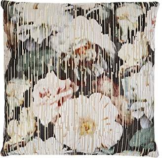 Lori Shinal Floral Velvet Pillow