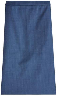 HUGO Virgin Wool Pencil Skirt