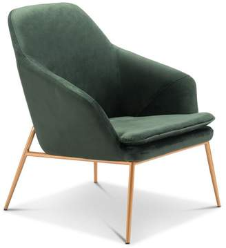 Apt2B Broyles Arm Chair GREEN VELVET