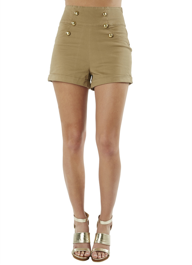 Arden B High Waist Sailor Shorts