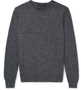 Ermenegildo Zegna Mélange Cotton Sweater