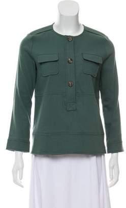 Missoni Wool Military Top