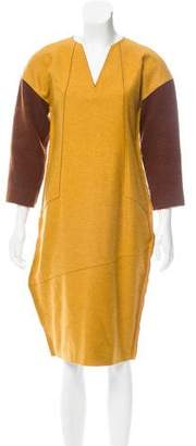 Fendi Wool Midi Dress