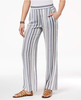 BCX Juniors' Striped Soft Pants