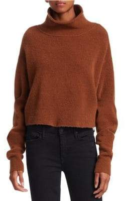 Alexander Wang Stretch Wool Turtleneck Sweater