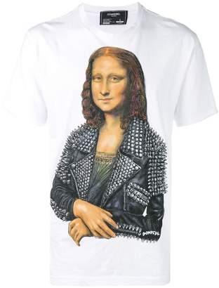 Dom Rebel Mona Lisa print T-shirt
