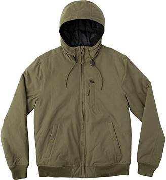 RVCA Men's Hooded Bomber Jacket