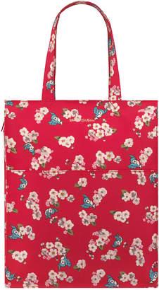 Cath Kidston Snow White Little Scattered Blossom Zipped Shopper Bag