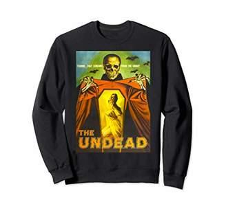 The Undead Creepy Horror Movie Shirt Art-Retro Movie Poster Sweatshirt