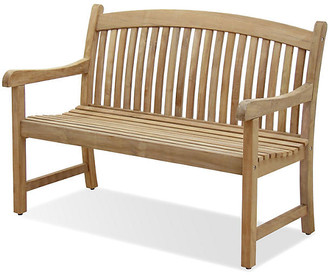 International Home Miami Newcastle 4' Outdoor Teak Bench