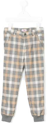 Il Gufo checked trousers