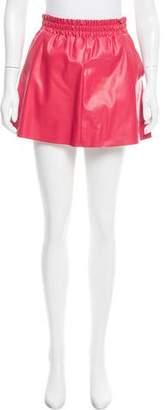 BCBGMAXAZRIA Mini Textured Skirt