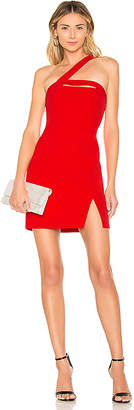 BCBGMAXAZRIA Dayne Fitted Mini Dress