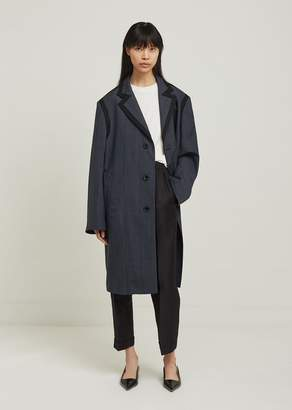 Maison Margiela Over Check Wool Coat
