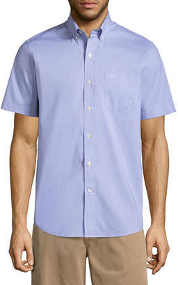 Dockers Short Sleeve Comfort Stretch Button-Front Shirt