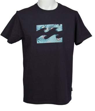 Billabong Men's T-Shirt ~ Team Wave navy