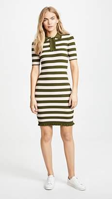 Milly Ruffled Polo Dress