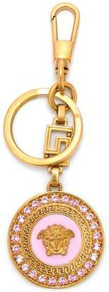 Versace Medusa crystal keyring