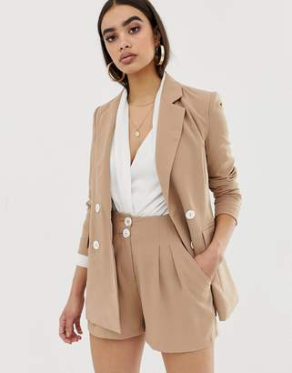 Fashion Union double breasted blazer two-piece