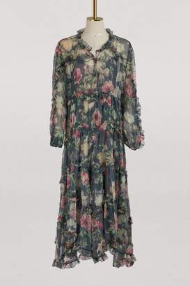 Zimmermann Iris silk maxi dress