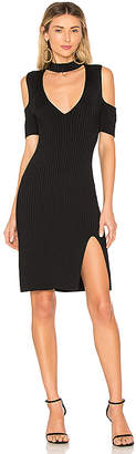BCBGMAXAZRIA Zoelle Cut Out Dress