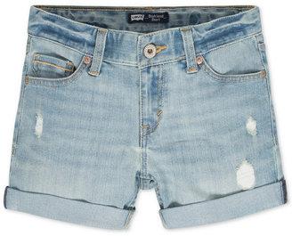 Levi's Denim Boyfriend Shorts, Big Girls (7-16) $38 thestylecure.com