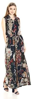Just Cavalli Women's Desert Garden Print Maxi Dress