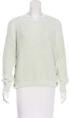 Closed Rib Knit Sweater