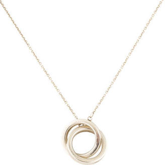 Tiffany & Co. 1837 Interlocking Circles Pendant Necklace $125 thestylecure.com
