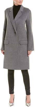 Helmut Lang Double Face Wool & Cashmere-Blend Coat