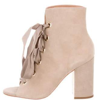 Ulla Johnson Suede Ankle Boots