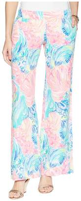 Lilly Pulitzer Bal Harbour Linen Palazzo Pants Women's Casual Pants