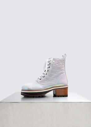 Sies Marjan Jessa Holographic Combat Boot