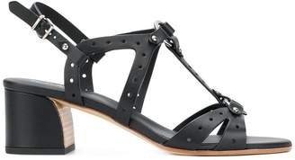 Tod's perforated block-heel sandals